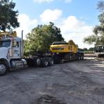 Pete & 360 Excavator_Amenity Center Prep Parking Lot_09_13_18 005